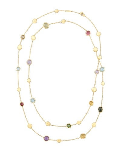 Jaipur Color Semiprecious Station Necklace