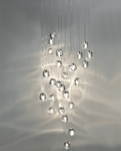 Mizu 26 Light Cascade Pendant
